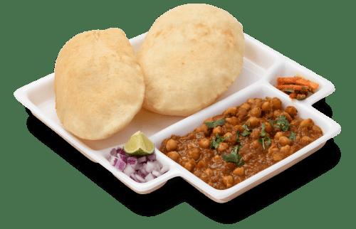 Famous Punjabi dish - Chole bhature
