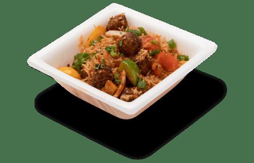 delish manchurian rice
