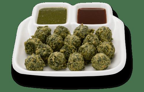 Vegetable fritters (Methi Gota)