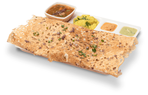 Increadible onion rawa masala dosa