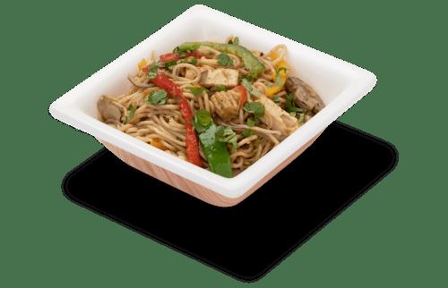 Delicious paneer corn garlic noodles