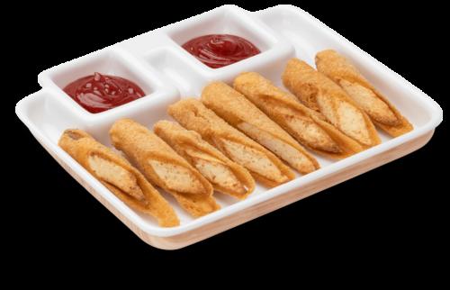 Crispy paneer fingers