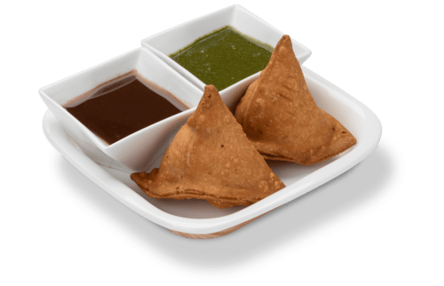 Yummy Samosa with Chutney