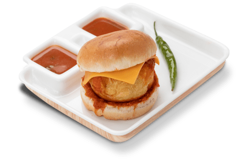 Ravishing szechuan cheese vadapav