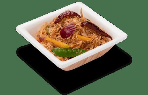 flavourful szechuan fried rice