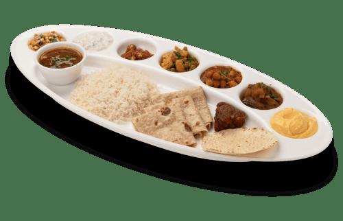 Famous special gujarati thali