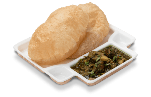 Masterpiece from the region of Gujarat - Undhiyu Puri