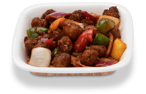 Delicious vegetable manchurian