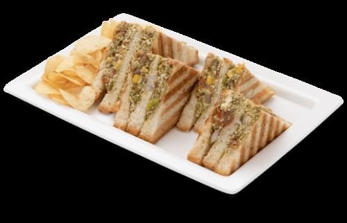 Famous Indian Desi Sandwich