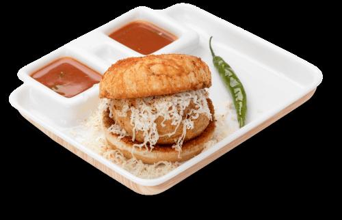 Famous desi burger - Vada pav