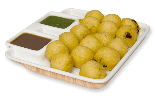 Mashed potato with rich spices - Batata vada