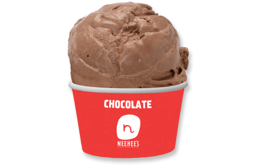 Tempting chocolate icecream