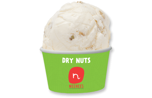 Nutty icecream - Dry nut