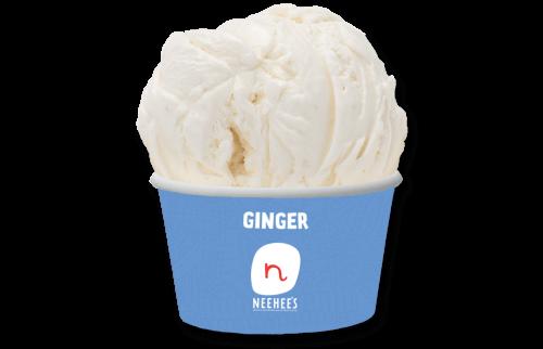 Delicios ginger icecream