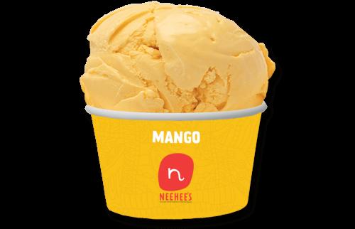 Tempting Mango icecrem