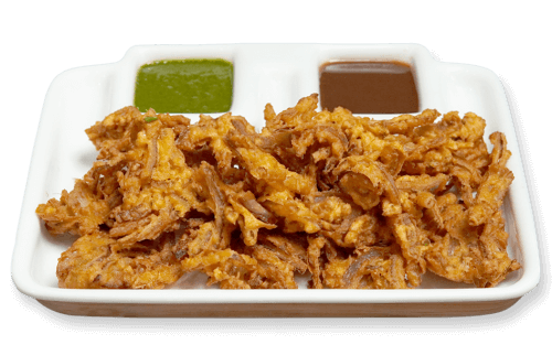 Delicious onion rawa dosa
