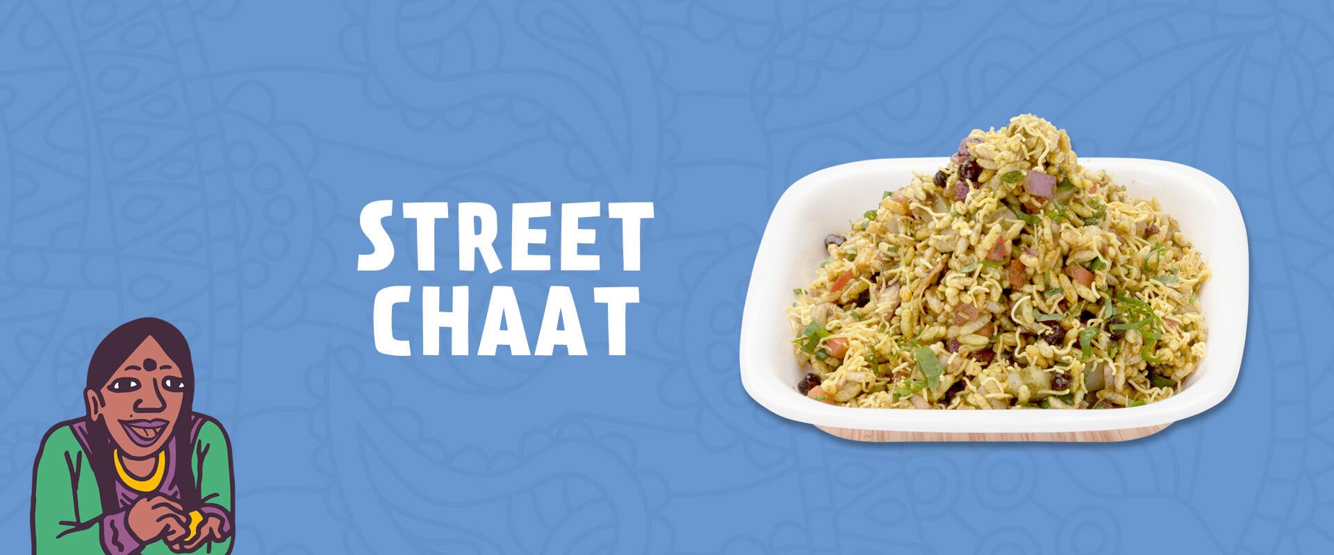 Indian Street chaat