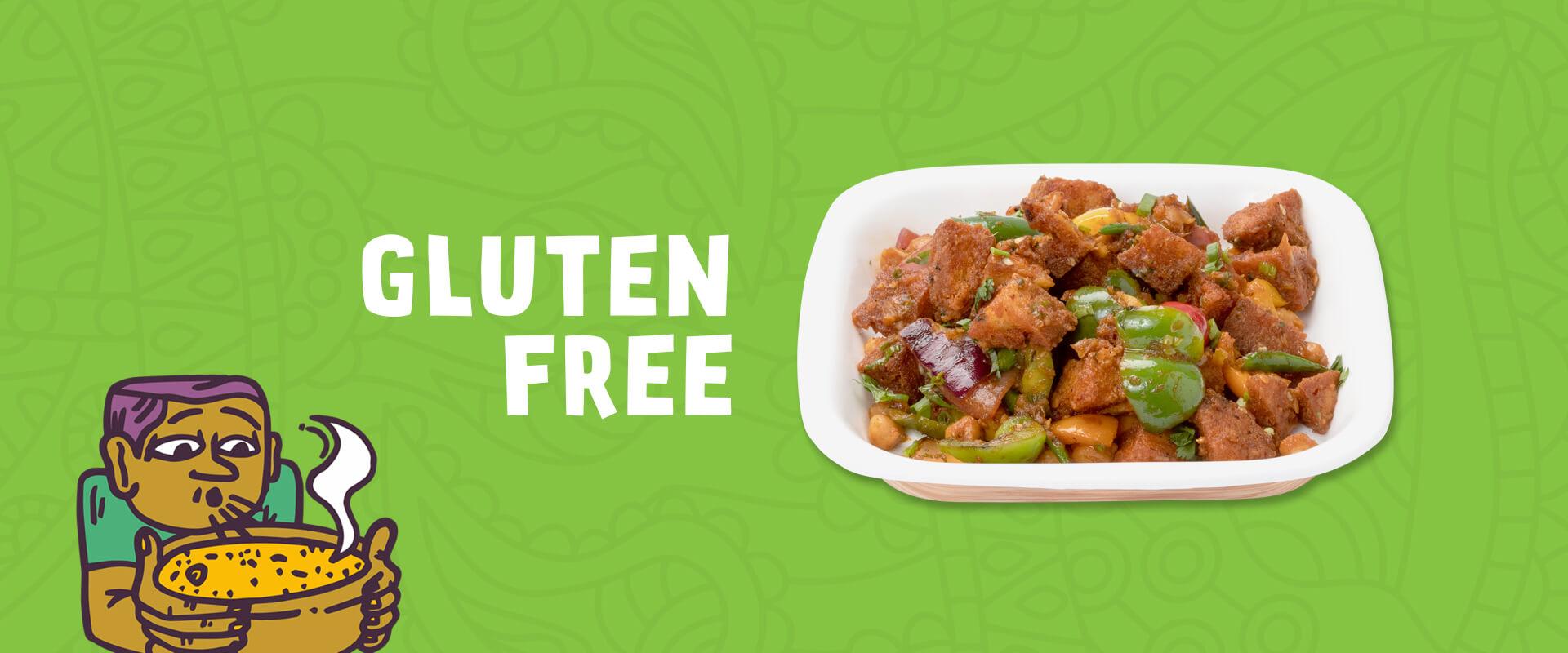 Gluten free food menu at Neehee's