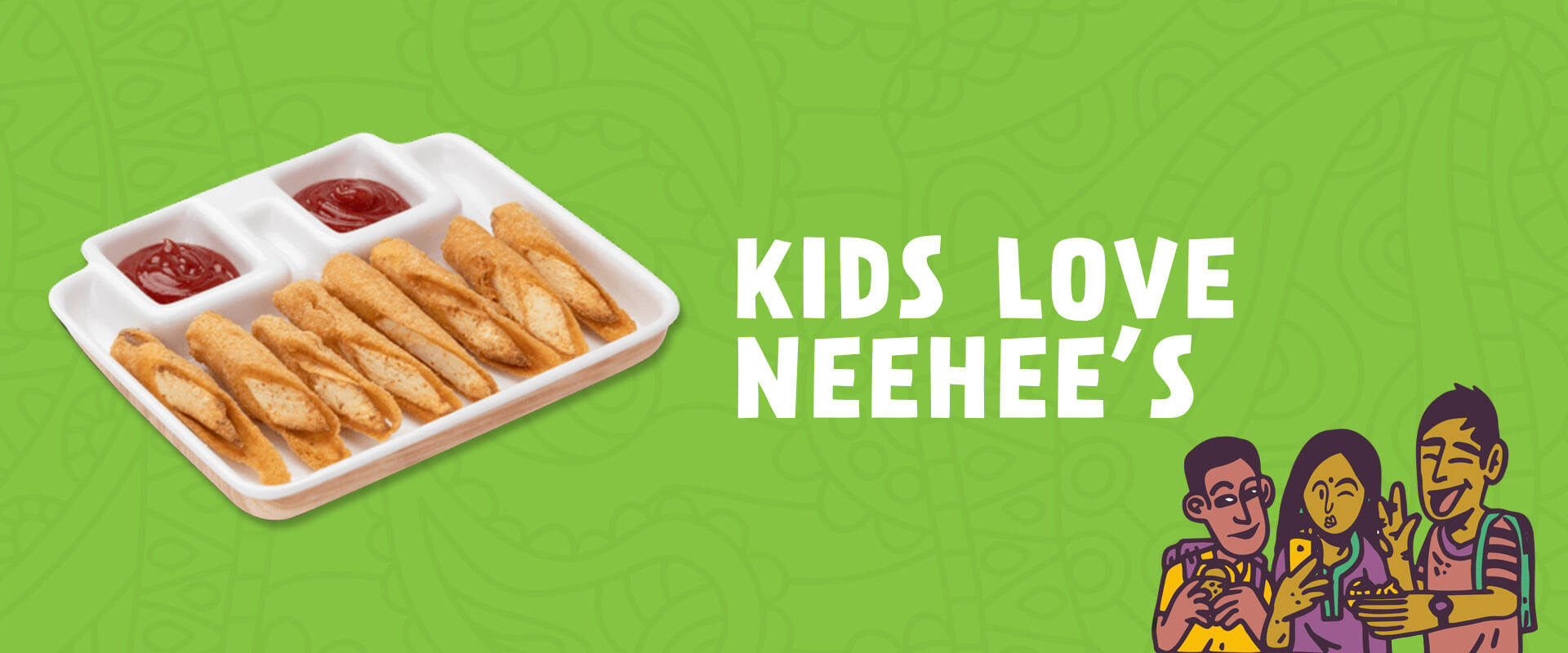 Special food menu for Kids