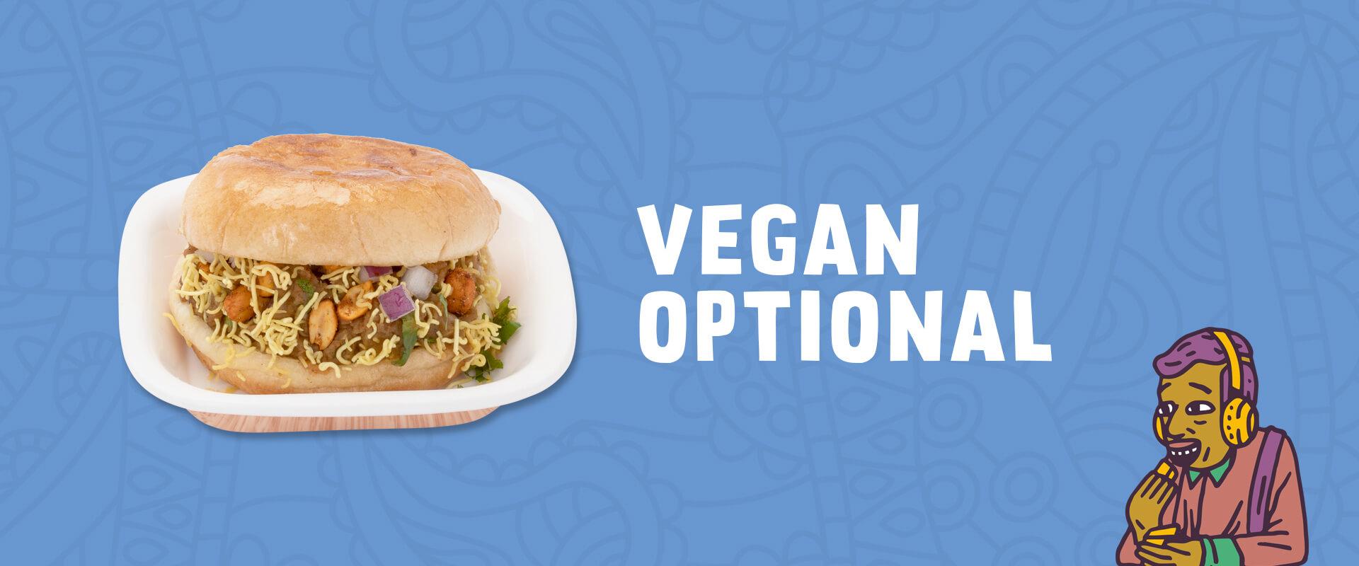 vegan optional food available ar Neehee's