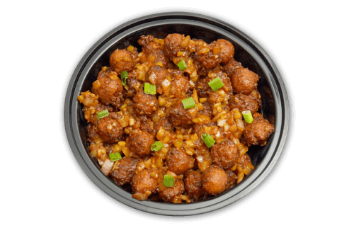 Delicious vegetable manchurian